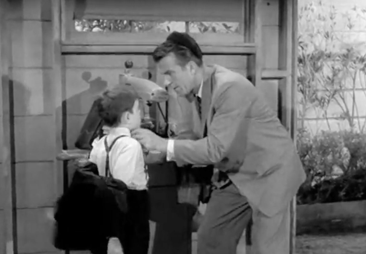 Hugh Beaumont as Ward Cleaver as Dad