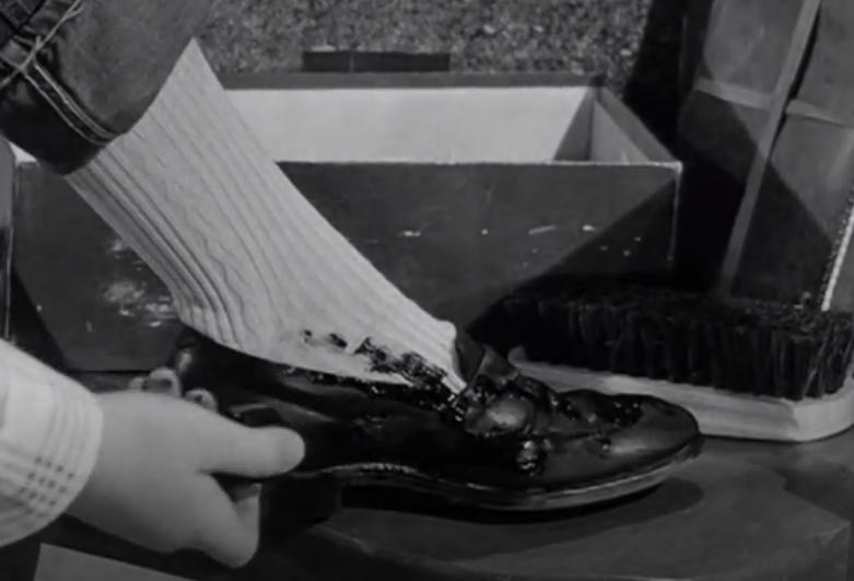 Ah, a perfect shoe shine!
