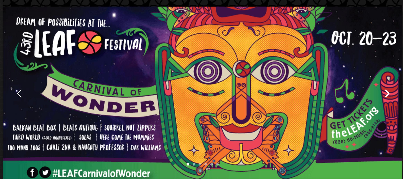 Leaf Carnival of Wonder: October 2016