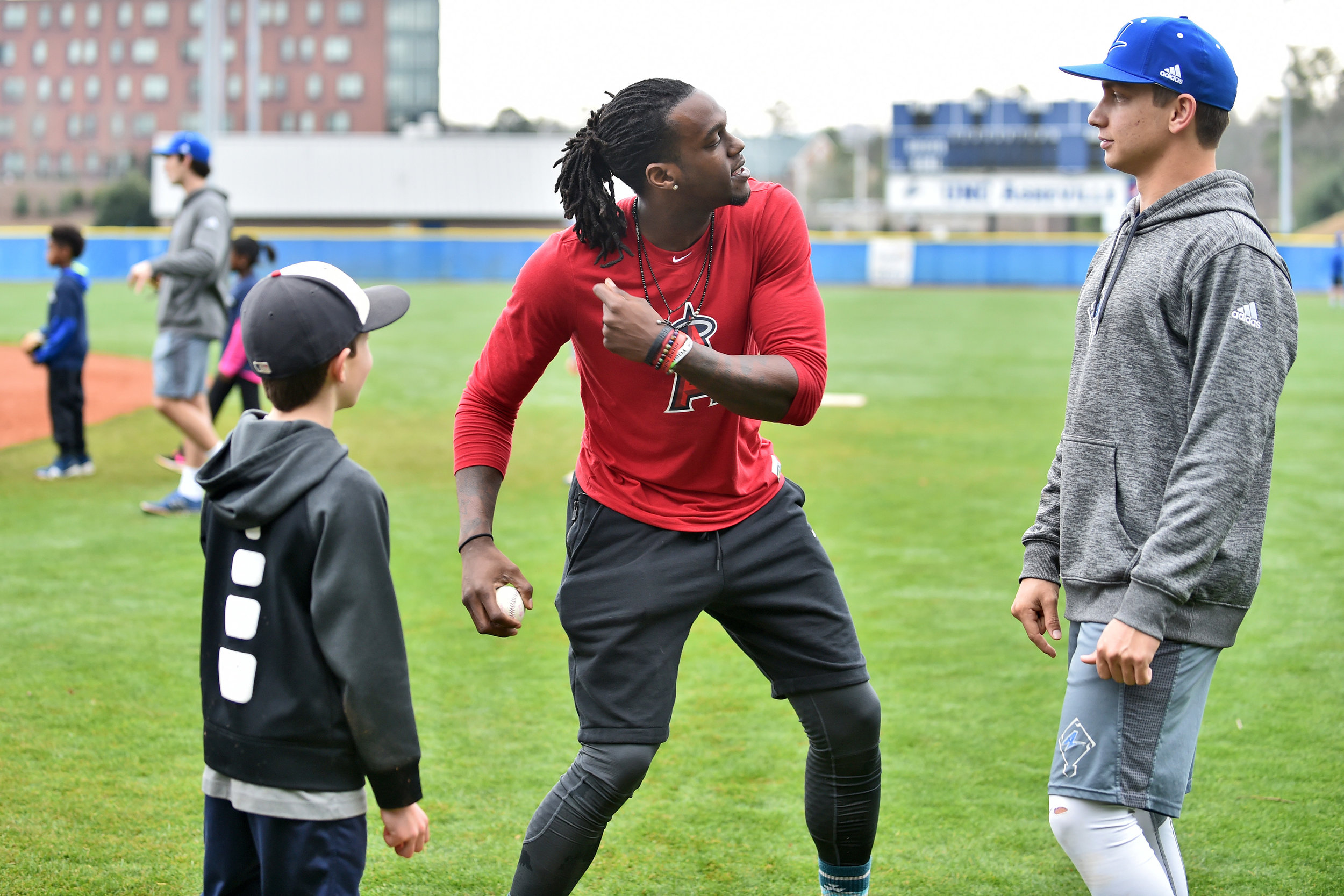Maybin Mission Youth Camp January 2017   Asheville, North Carolina     Cameron Maybin, in partnership with UNC Asheville, hosted a skills based youth camp for local little league players in Asheville, NC.   LEARN MORE