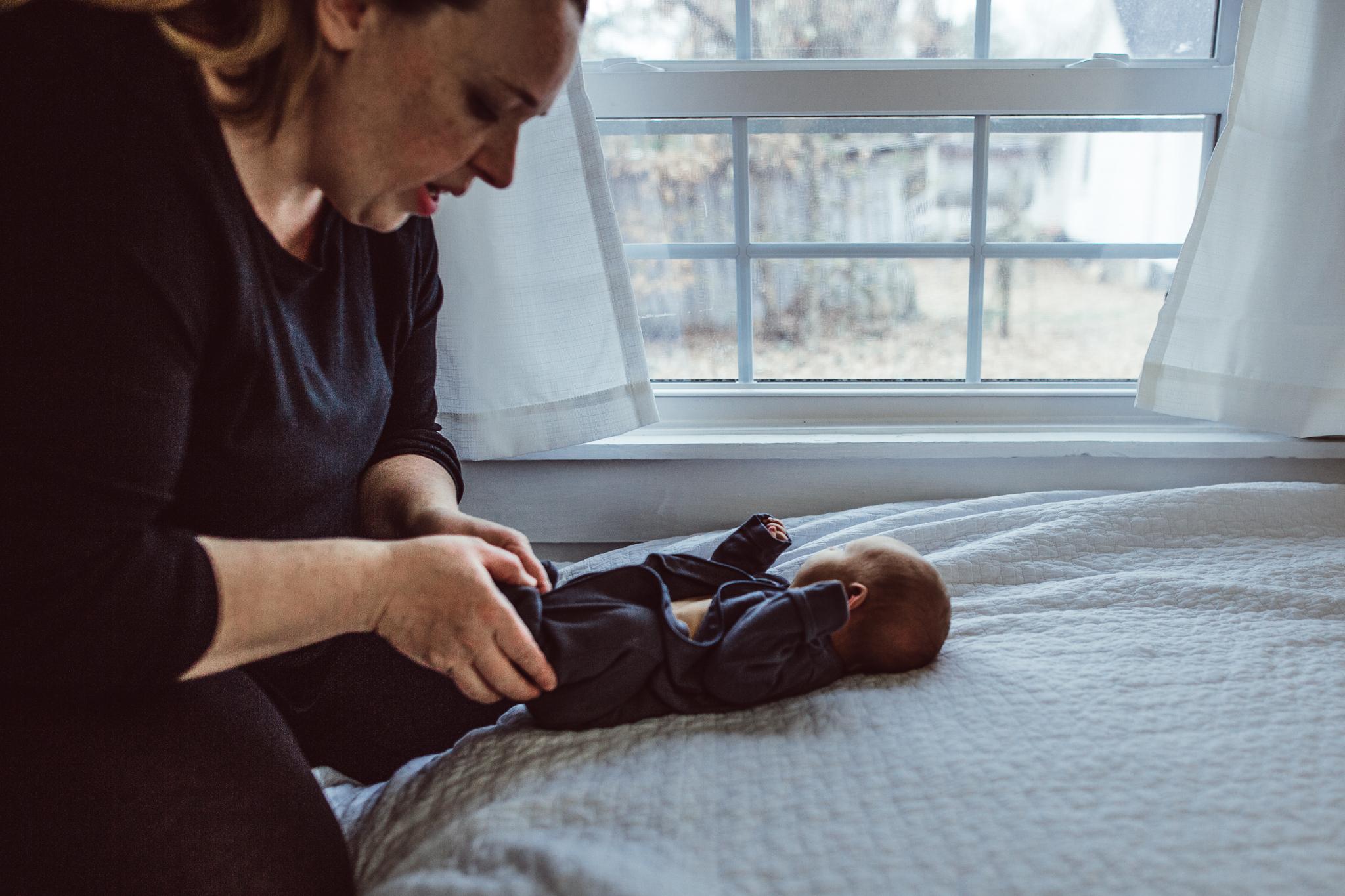 Undressing the Newborn