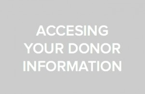 Visit your personal fundraiser dashboard to find donor information like names and donation amounts.