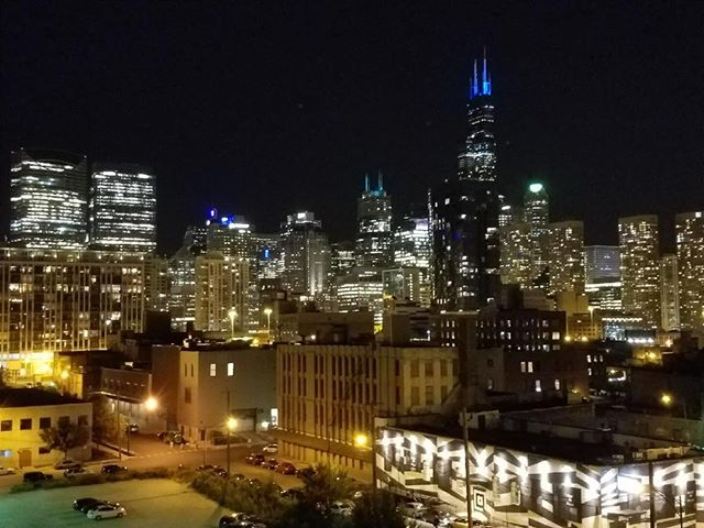 This skyline at night never gets old and when I saw it 20 yrs ago on my way in for an interview I knew this was the place for me.