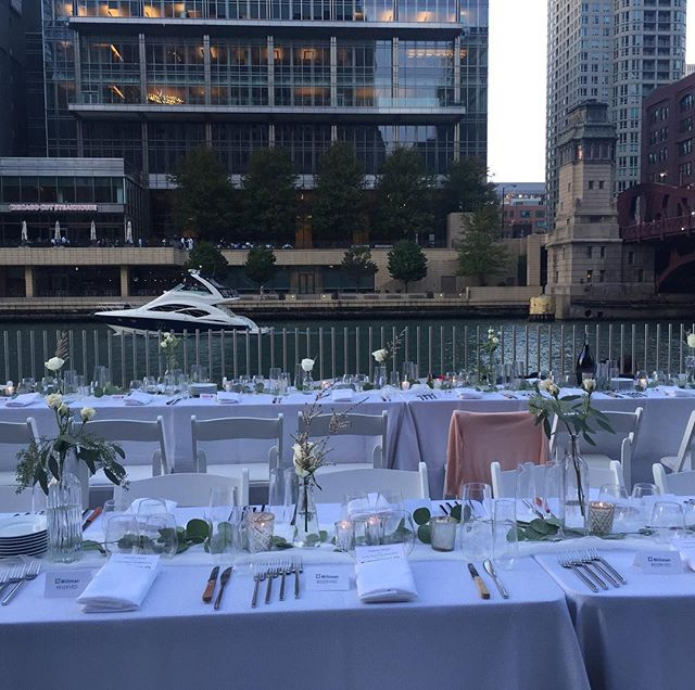 A room with a view. ChicagoGourmet2017
