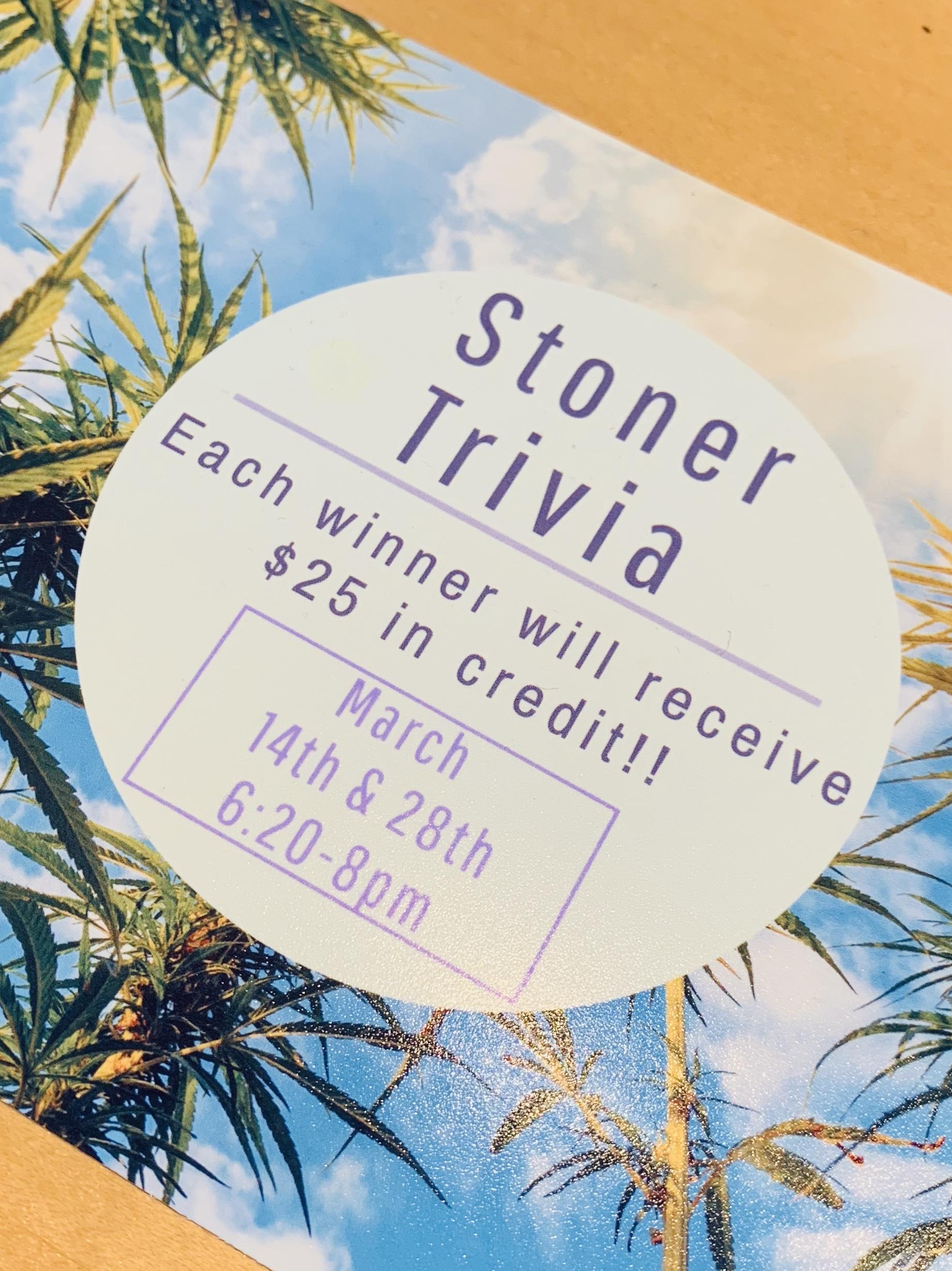Stoner Trivia