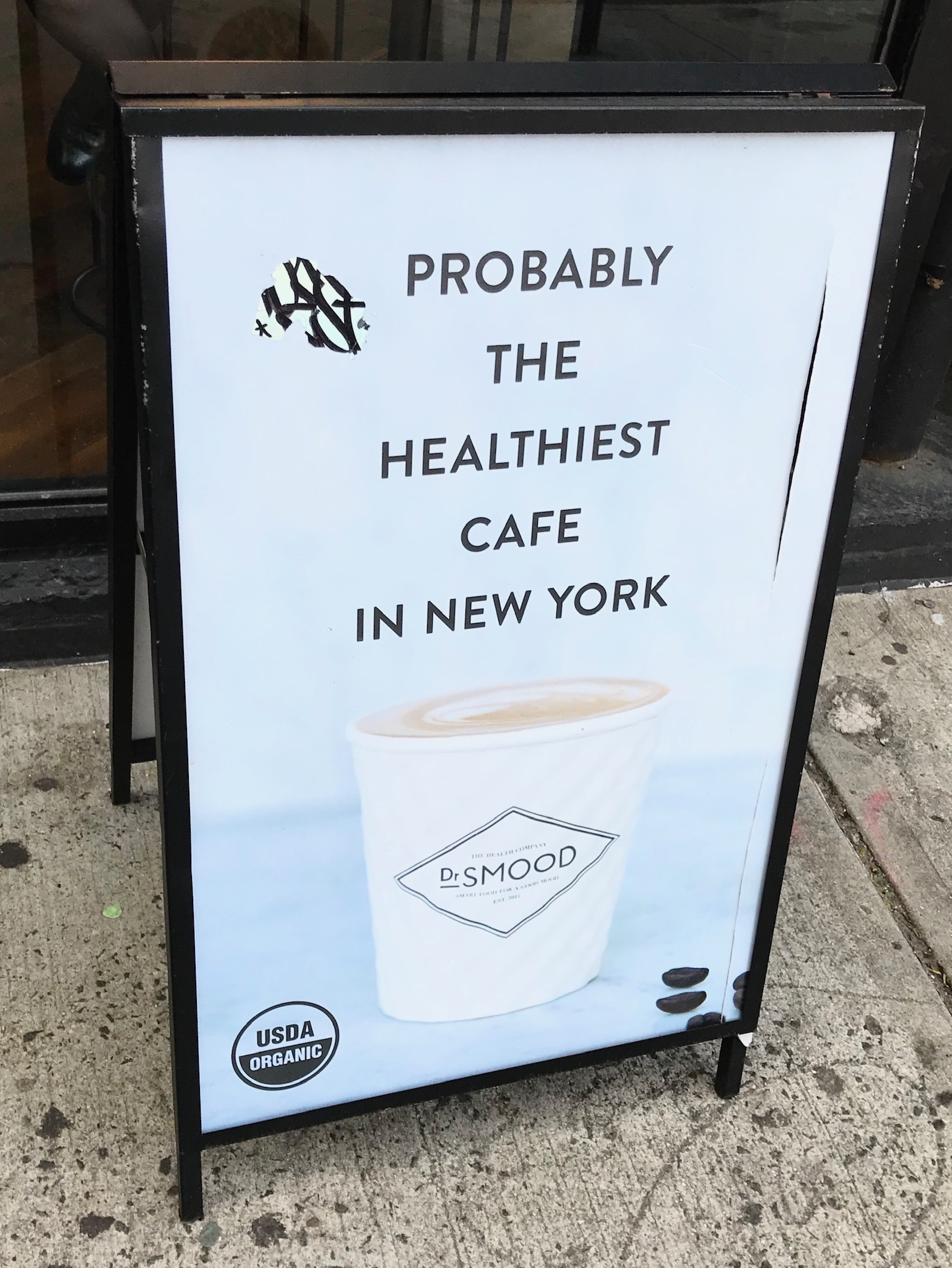 Dr Smood Sandwich Board