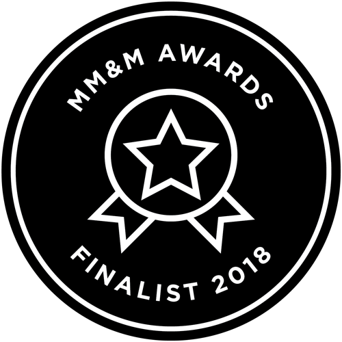 MM&M Awards - Finalist 2018