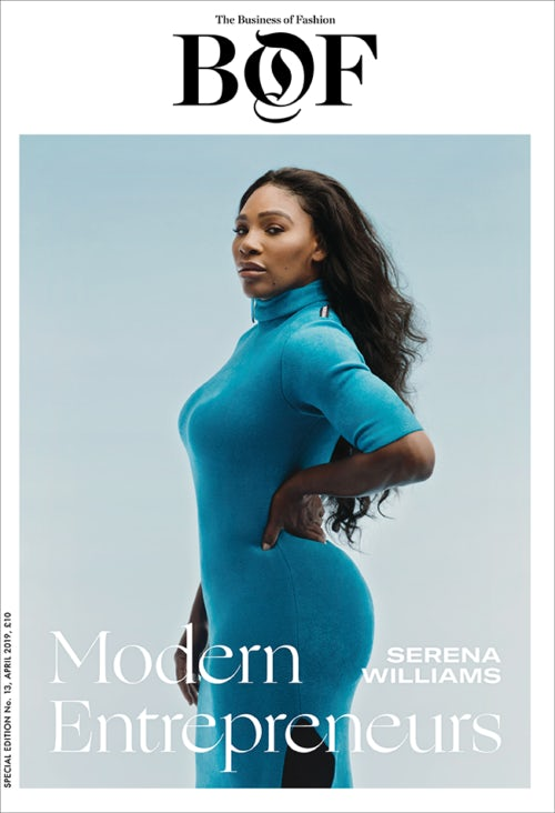 Serena's cover for BOF