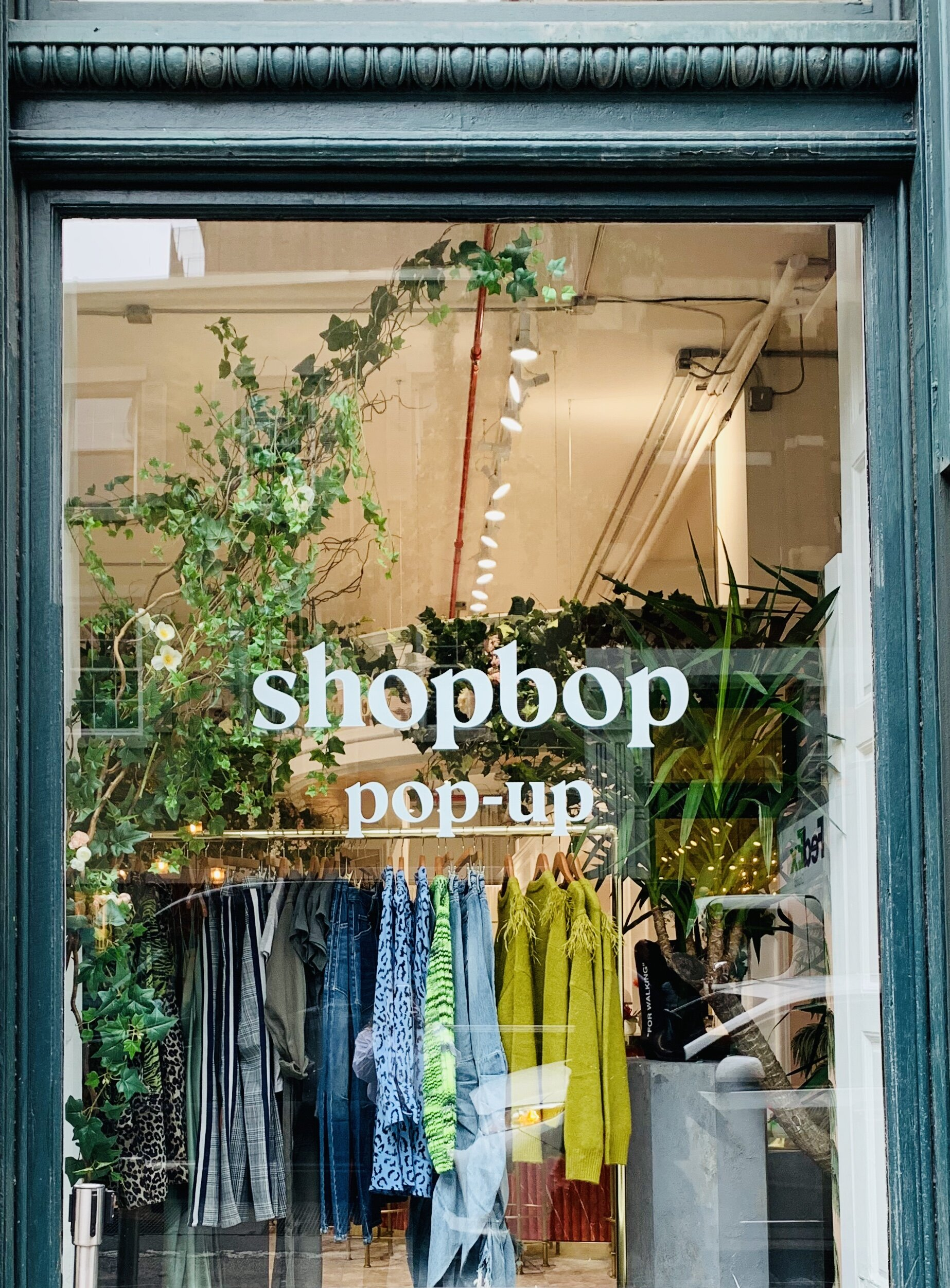 Shopbops's Window Display