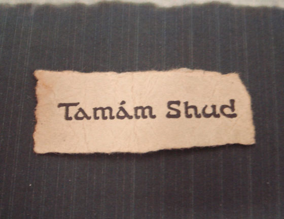 Ep 33: Tamam Shud – The Somerton Man Mystery — Astonishing
