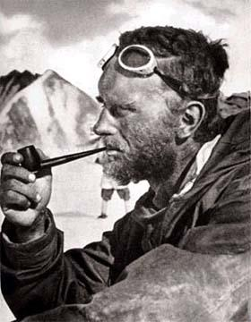 This is what an adventurer looks like.  Eric Shipton .