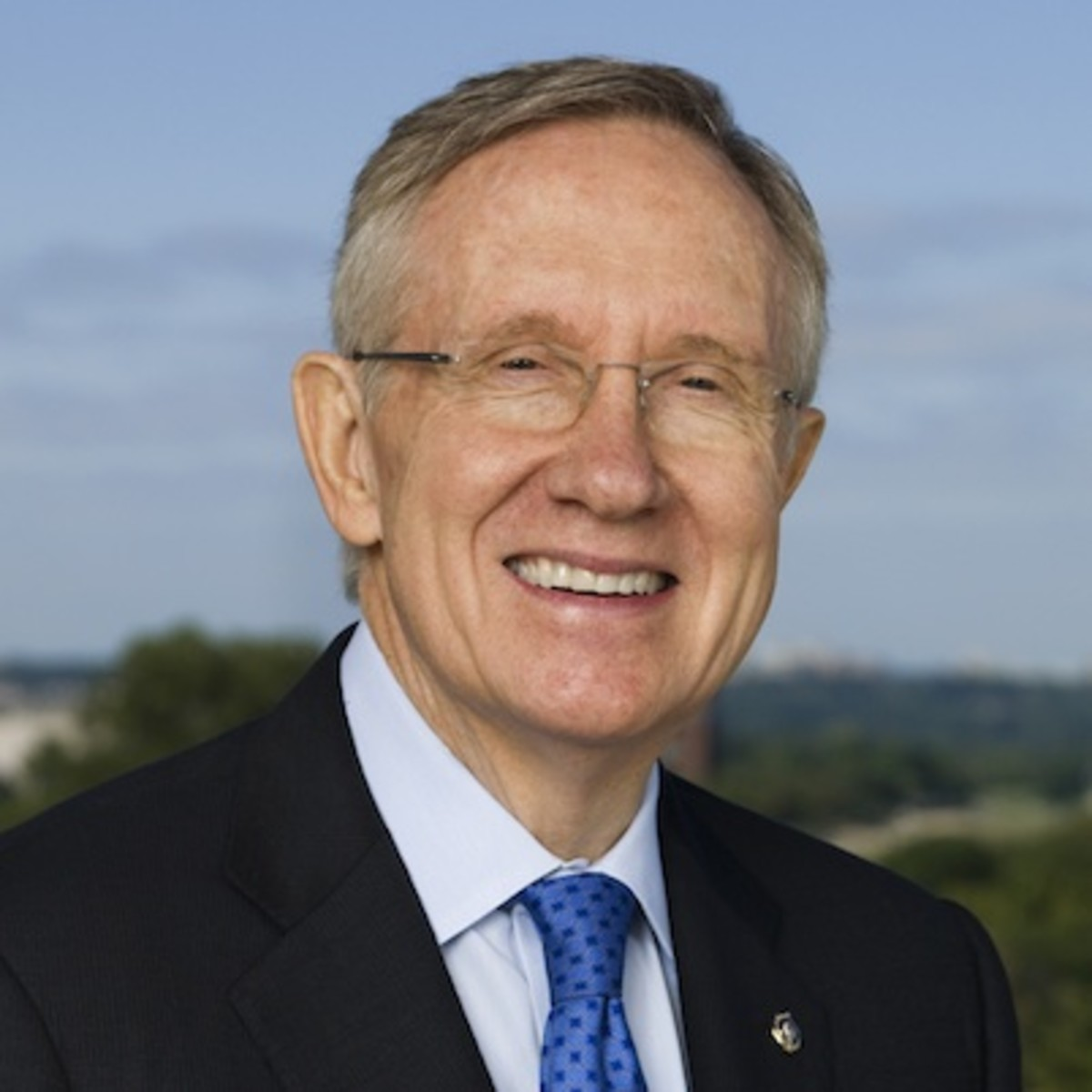 Harry Reid, former Democratic Senator from Nevada, who pushed for funding of the Advanced Aerospace Threat Identification Program while he was Senate majority leader.