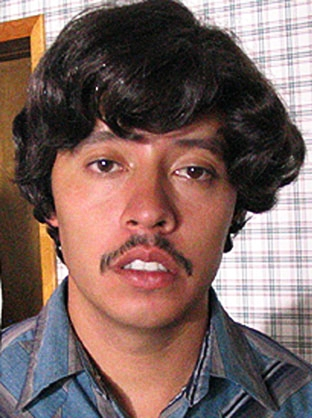 "Actor  Efren Ramirez , as his character ""Pedro"" from the cult classic film,  Napoleon Dynamite .  In his interview for this episode, author Adam Selzer said his vanishing Uber passenger looked just like him."
