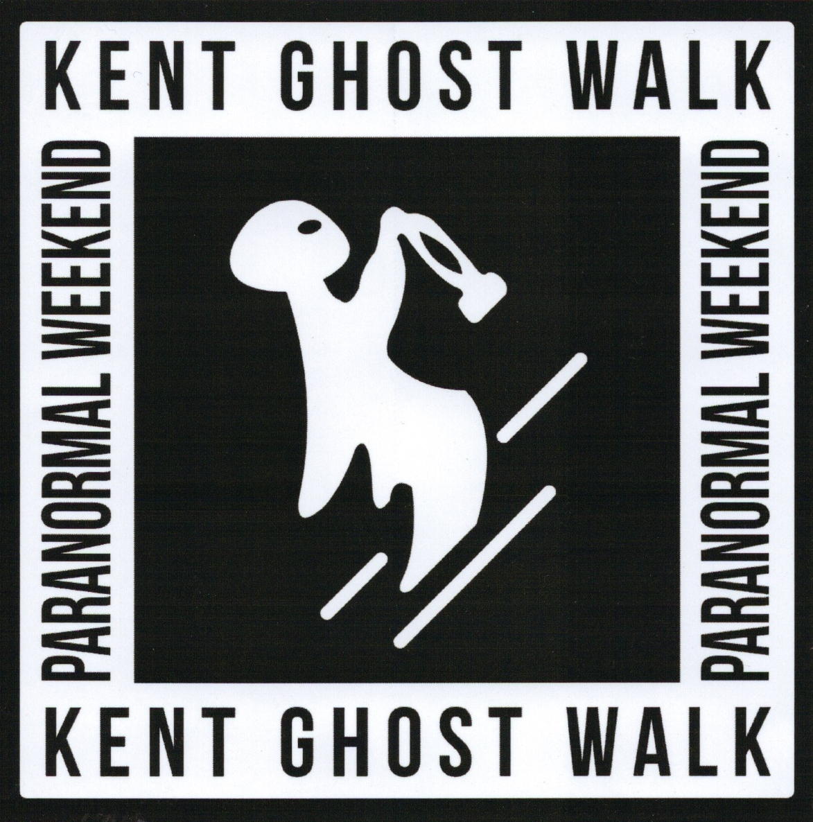 Kent Paranormal Weekend Logo Sticker.jpeg