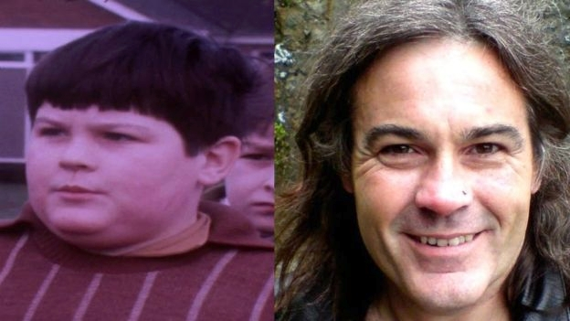 "David ""Dave"" Davies, then and now.  From the  BBC News article"
