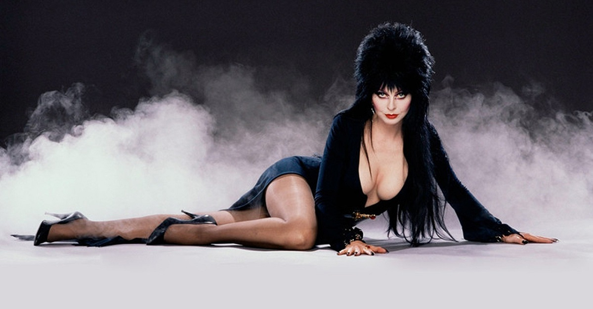 "Renowned Horror Hostess ""Elvira, Mistress of the Dark,"" aka actress  Cassandra Peterson"