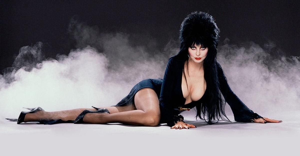 "Renowned Horror Hostess ""Elvira, Mistress of the Dark,"" aka actress  Cassandra Peterson"