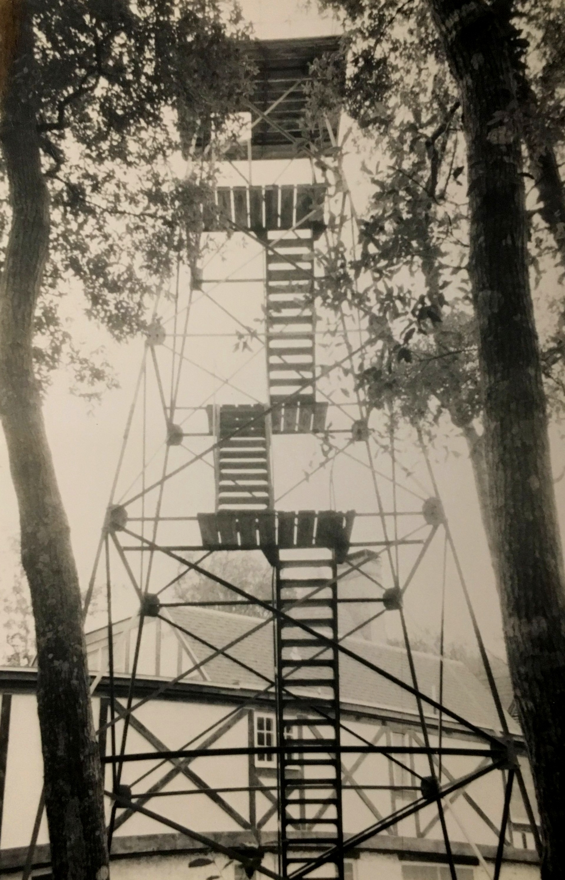 Observation tower on the property.  Image courtesy of the Betz family. All Rights Reserved – Do not reproduce.