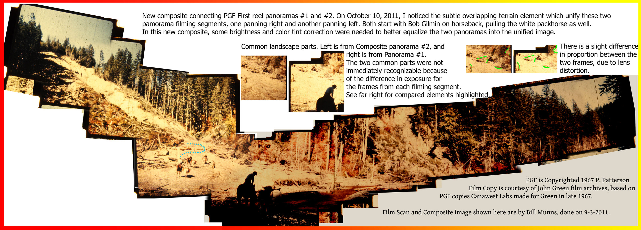 A composite of #1 and #2 Panorama Composites, pieced together by Bill Munns