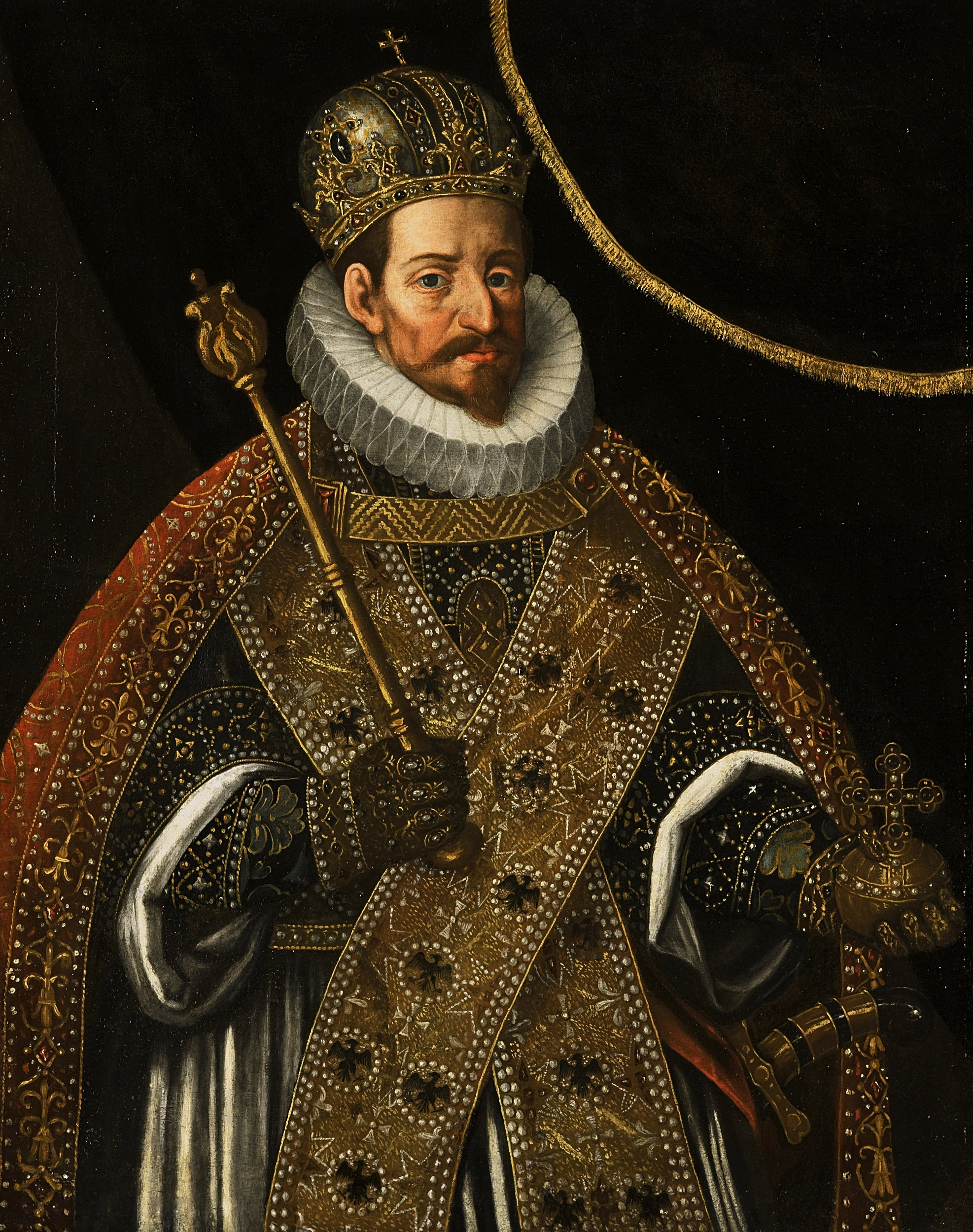 Matthias of Austria , (24 Feb 1557 – 20 Mar 1619) was  Holy Roman Emperor  from 1612, King of  Hungary  and  Croatia  from 1608 (as  Matthias II ) and King of  Bohemia  from 1611. He was a Catholic member of the  House of Habsburg .  He urged  György Thurzó  to execute Elizabeth not only for the horrid nature of her crimes, but also perhaps because of a large debt owed to her and her husband Ferenc.