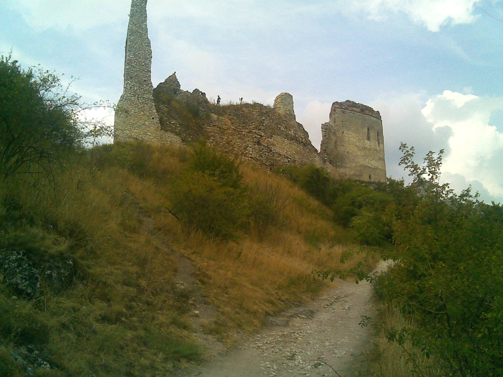 Photo of Čachtice castle by   Pavel Ševela   (sevela.p)  / Wikimedia Commons ,  CC-BY-SA-3.0