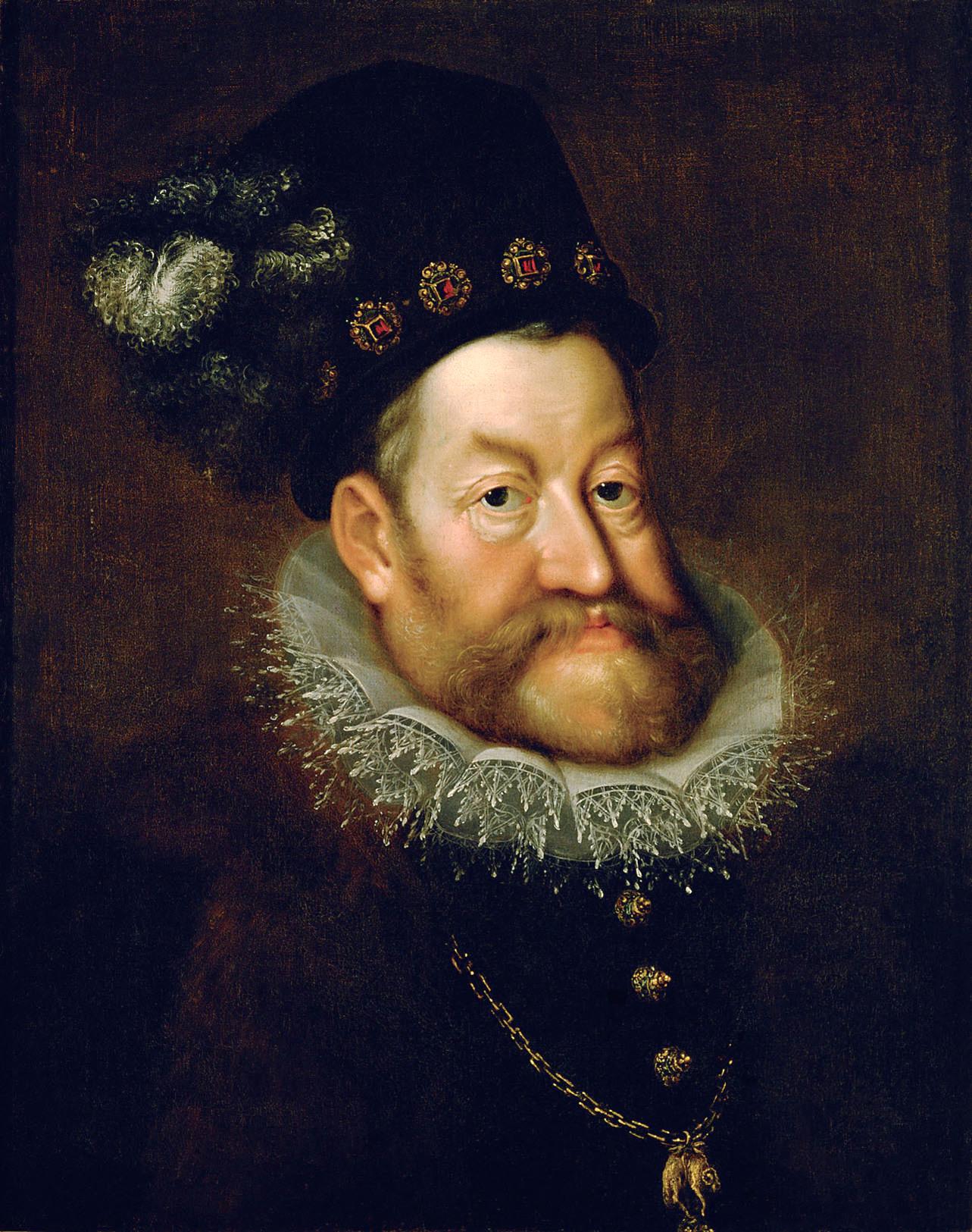 Portrait of Rudolf II, Holy Roman Emperor by  Hans von Aachen