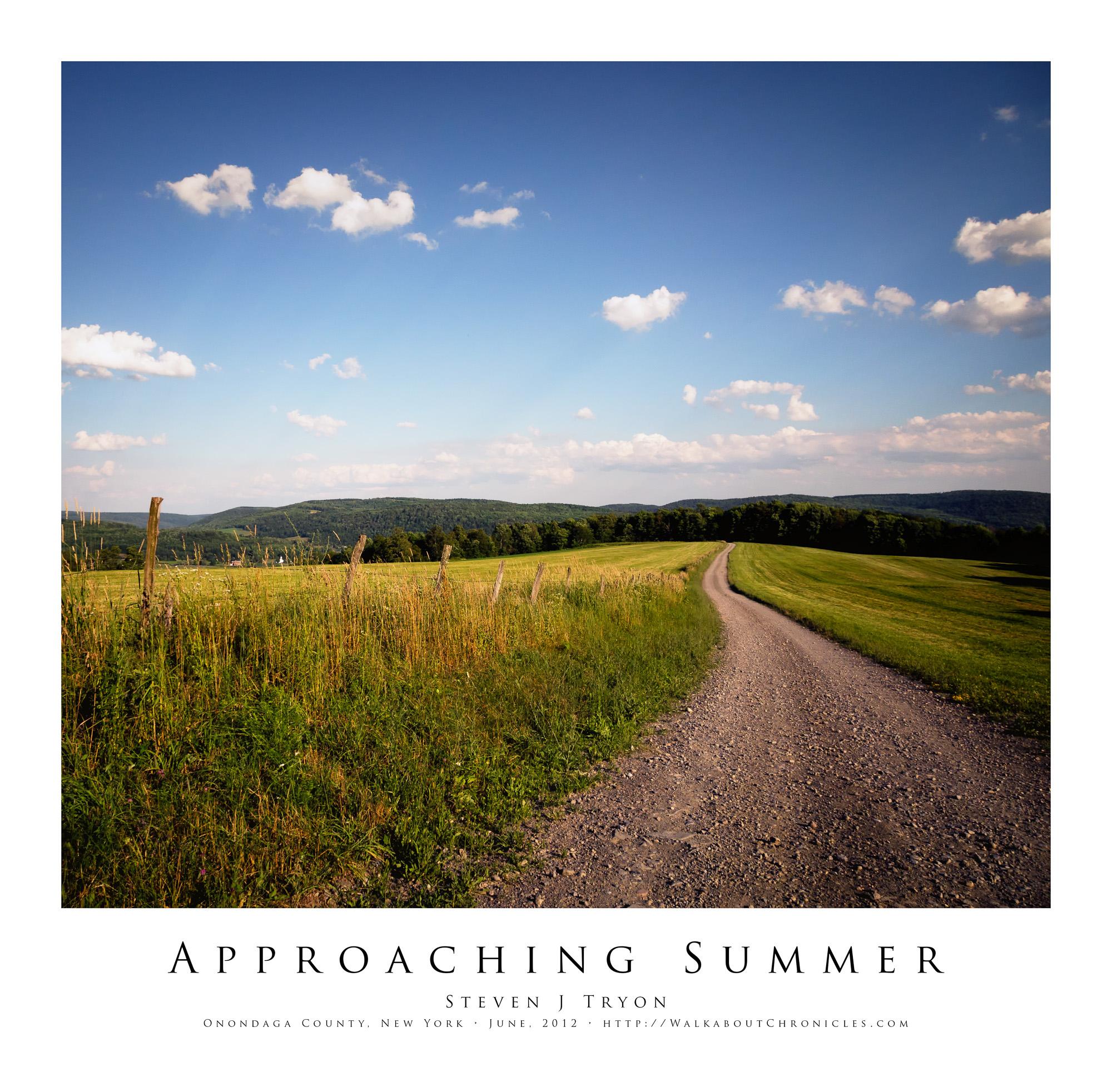 Approaching Summer