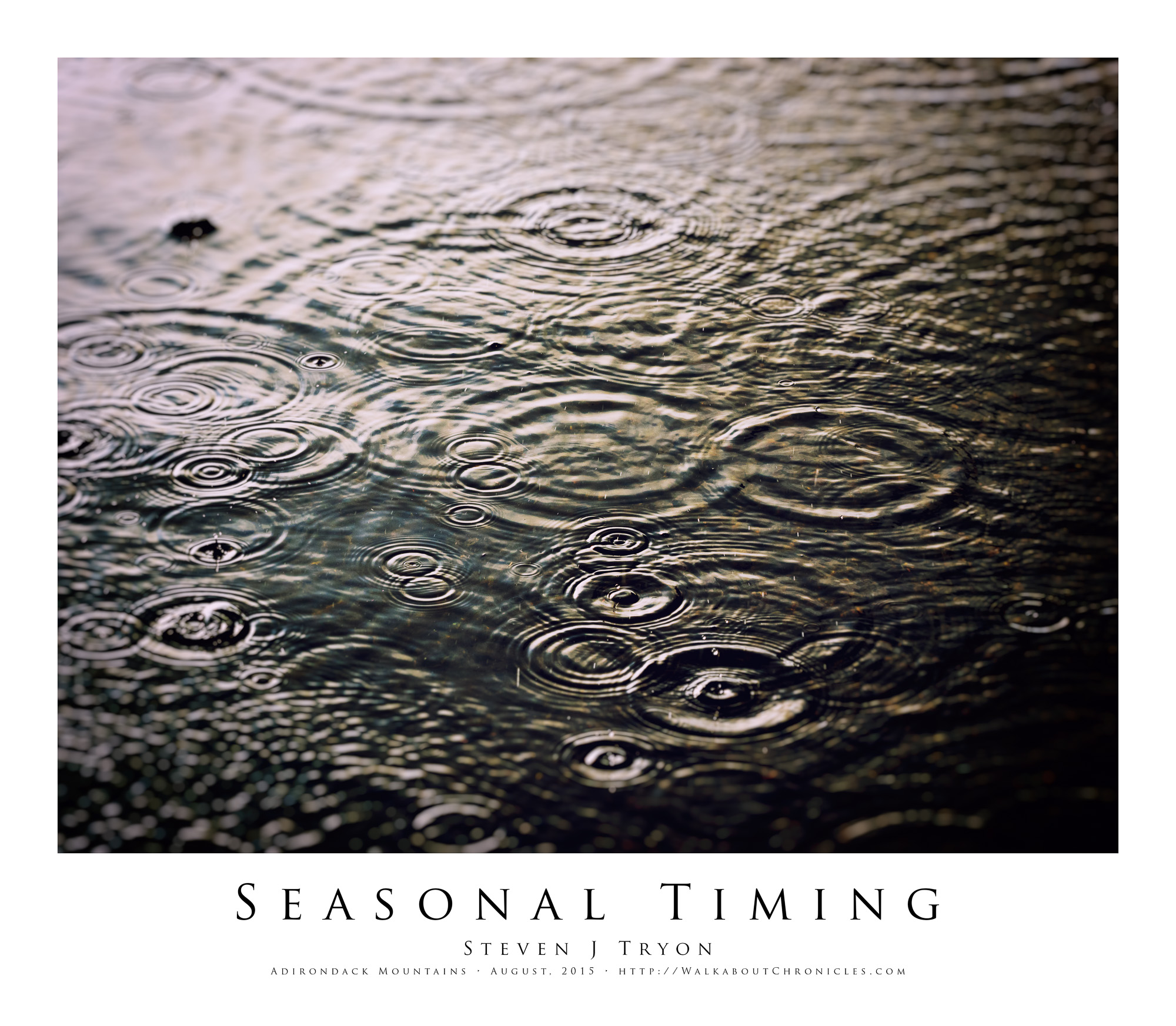Seasonal Timing