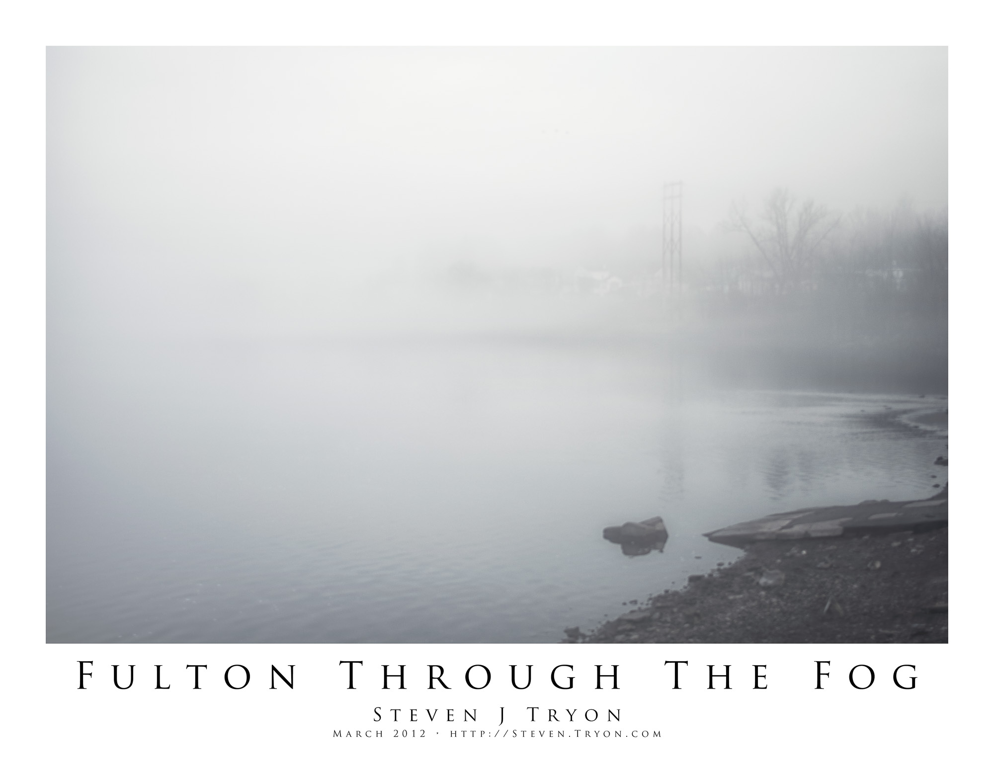 Fulton Through The Fog
