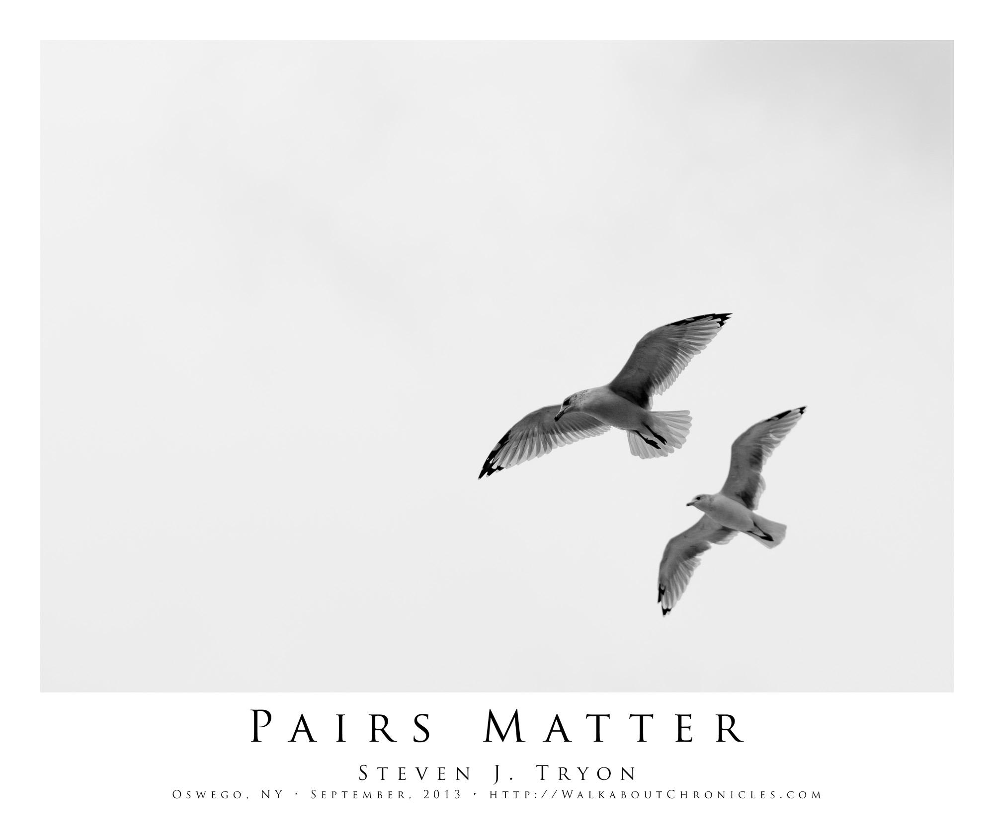 Pairs Matter