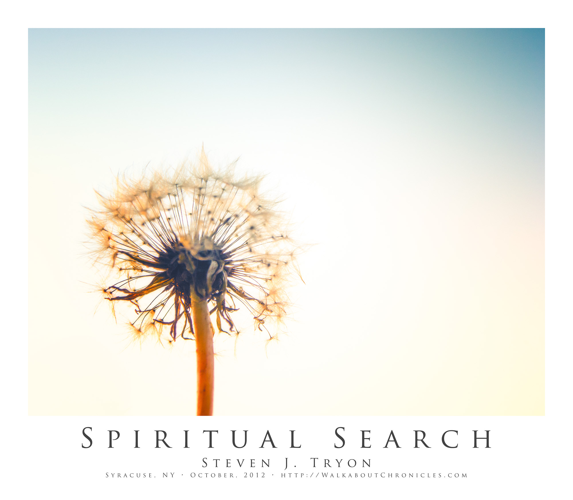 Spiritual Search