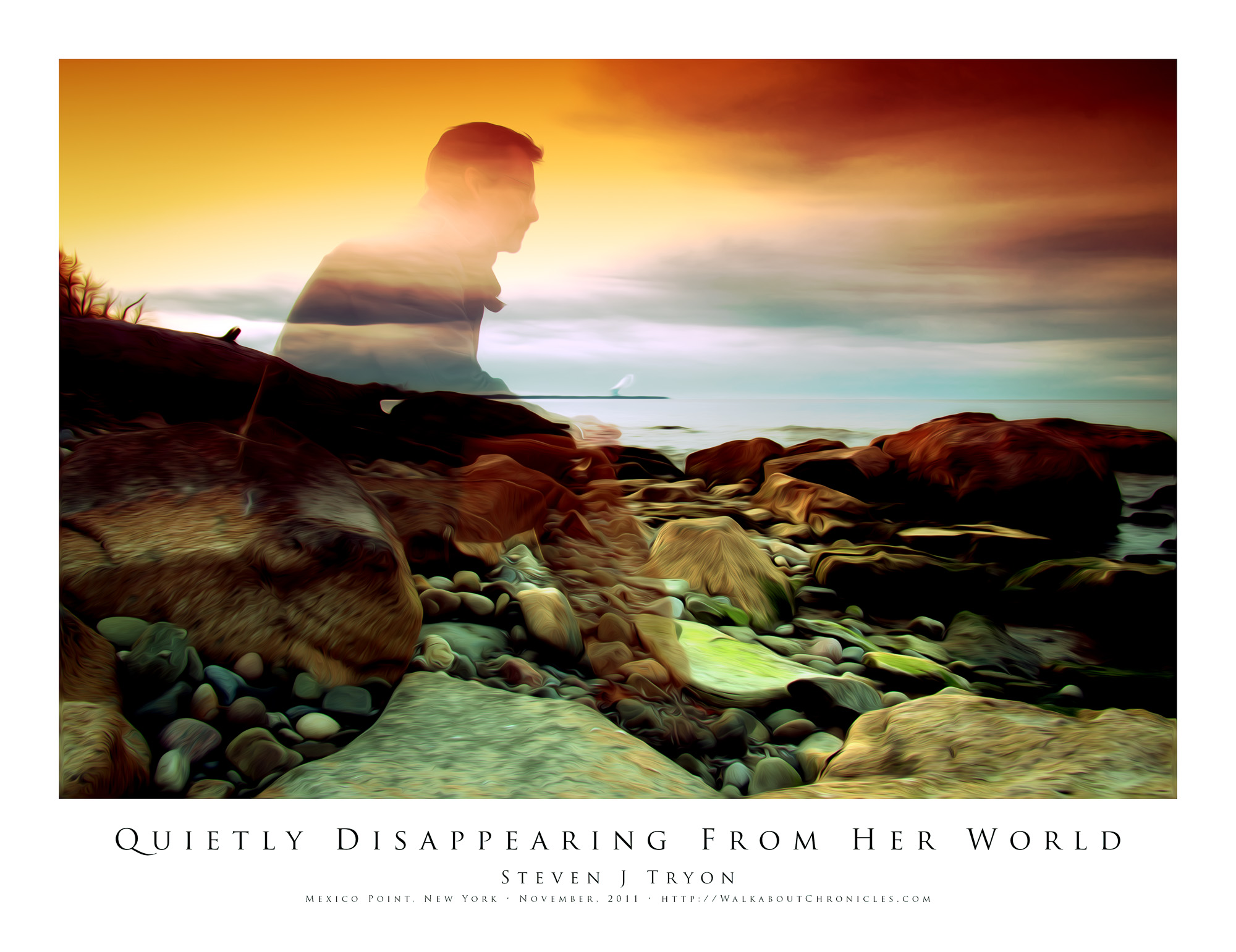 Quietly Disappearing From Her World