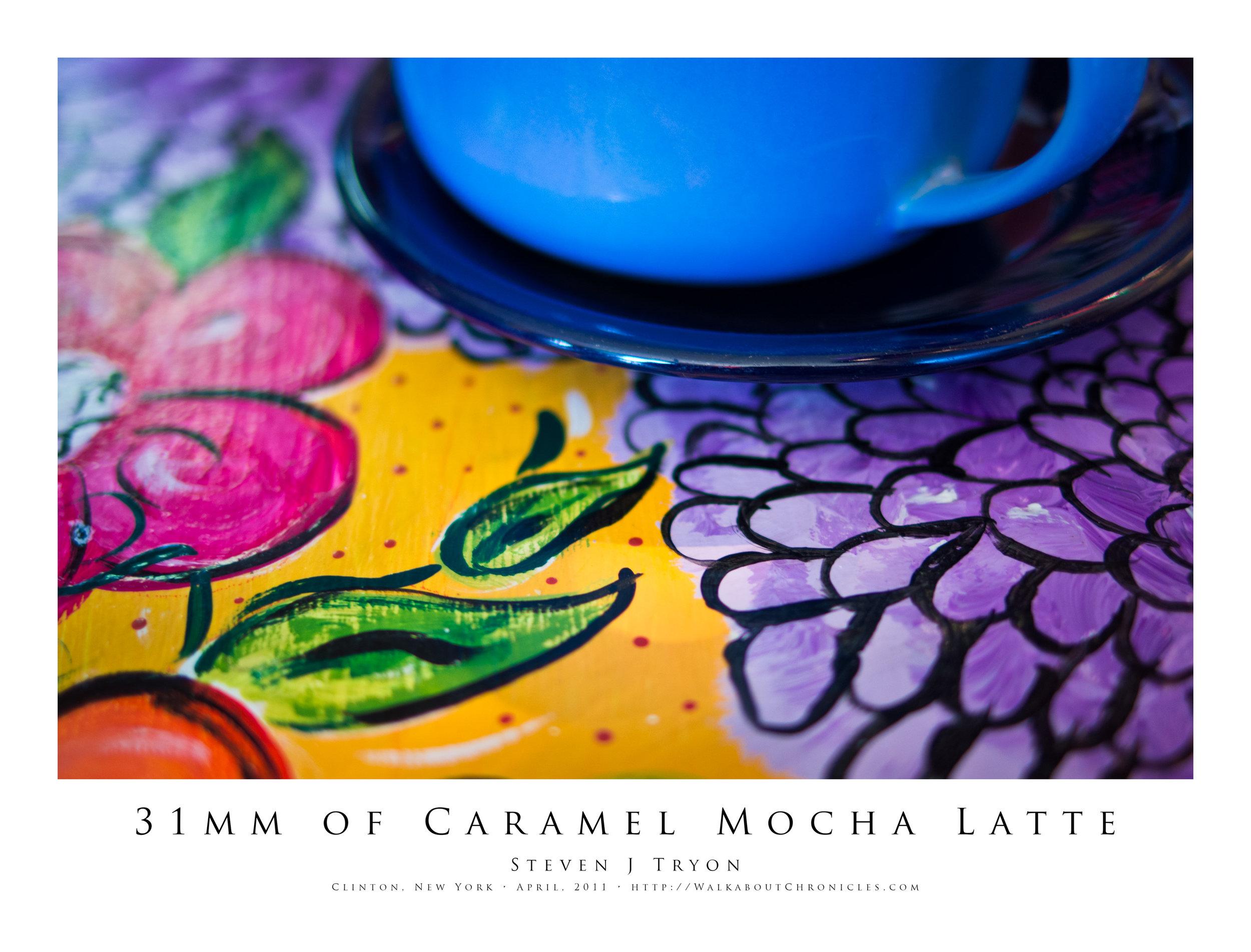 31mm of Caramel Mocha Latte