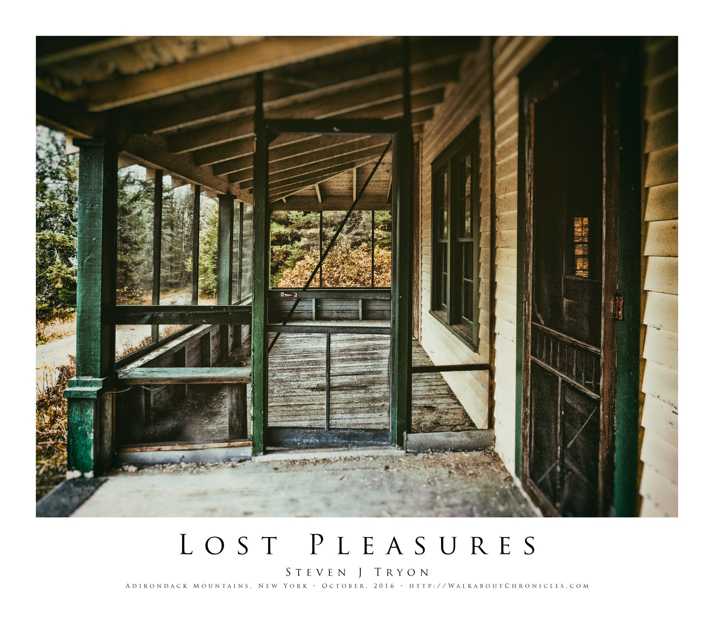 Lost Pleasures