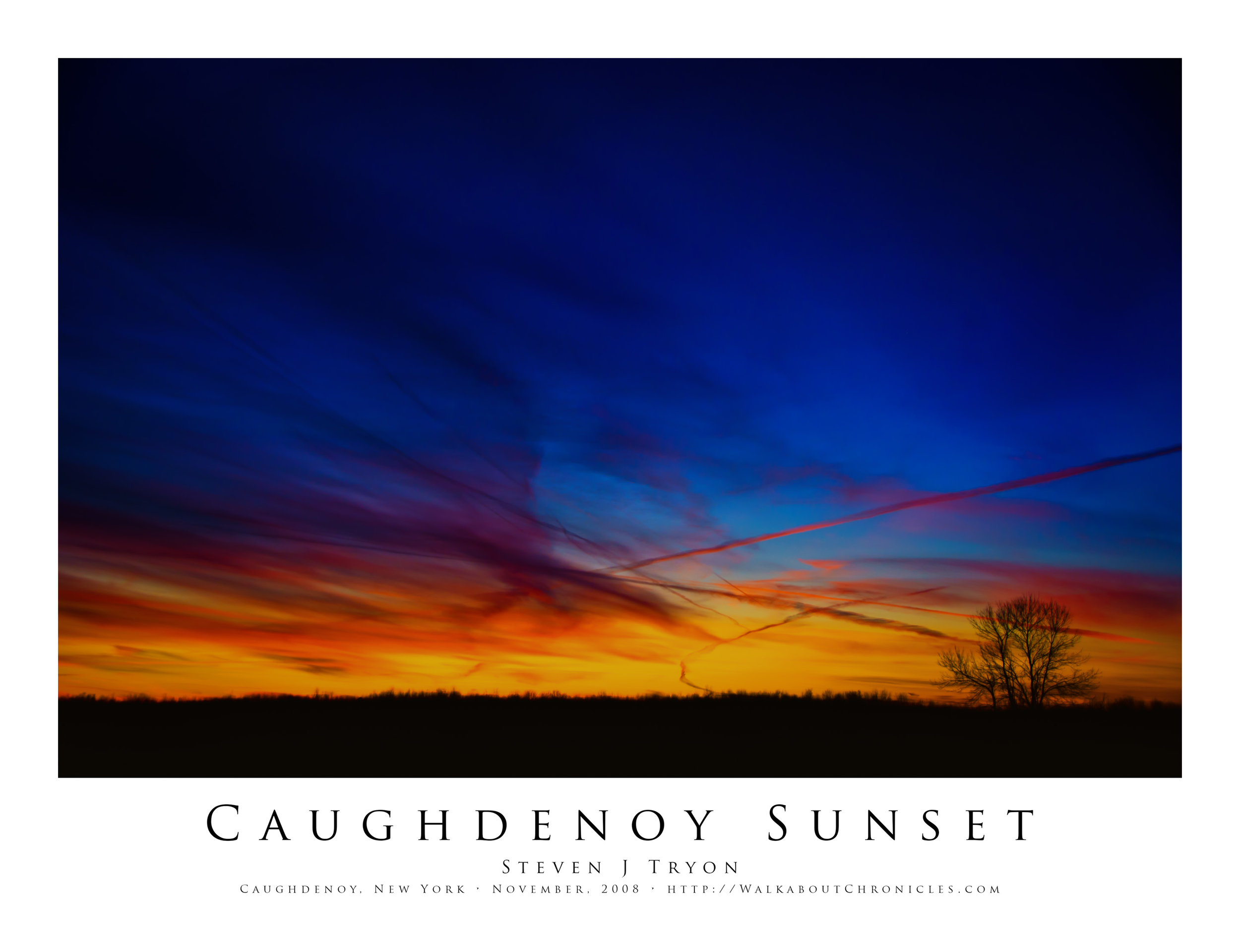Caughdenoy Sunset (Revisited)