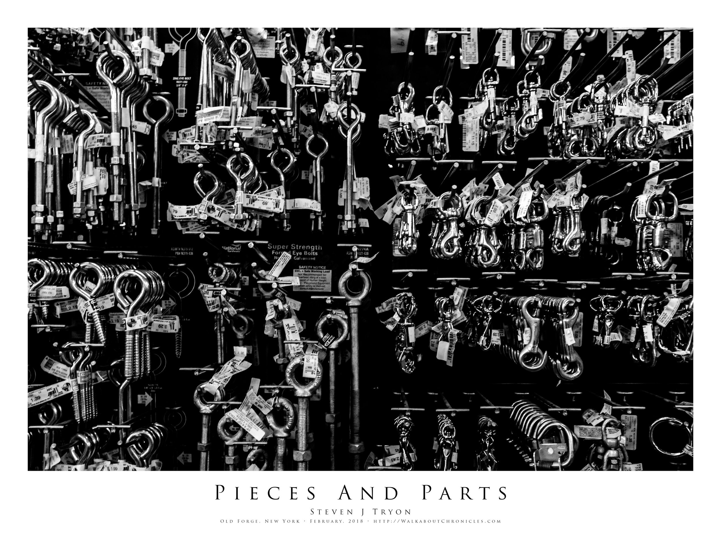Pieces And Parts