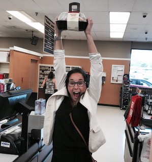 This is what winning looks like. Go, Sam. Go! Get home to your family and serve up that rotisserie!