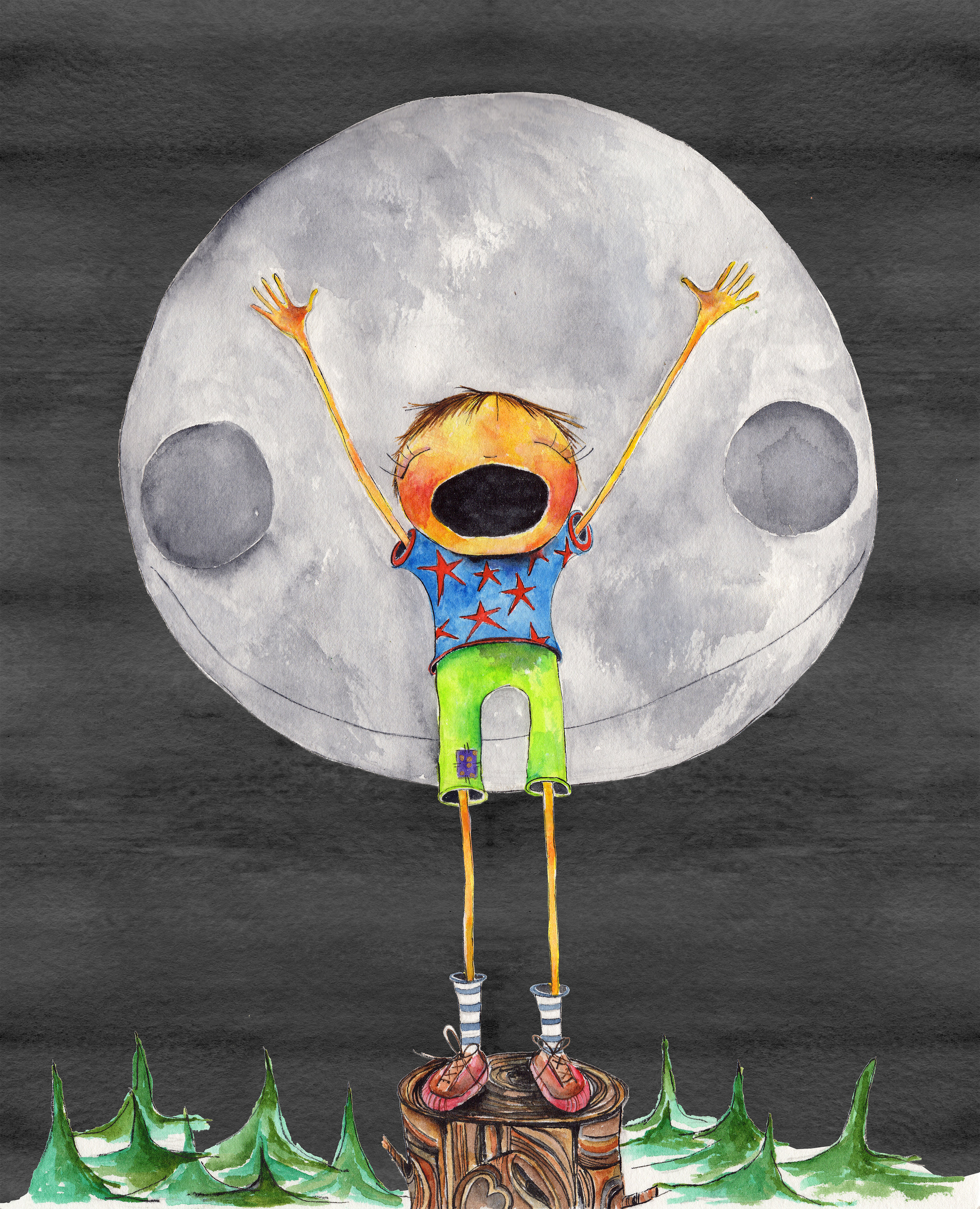 """Image from """"Logan and the Miracle"""" a book in the Gnat & Corky children's series.  www.nataliesorrentino.com  (@gnatandcorky)"""