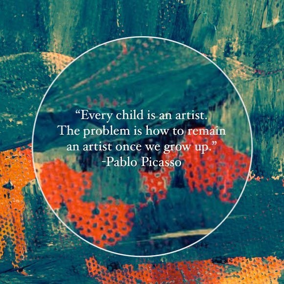 Anybody want to challenge this notion with us?  Come on out this Sunday afternoon (March 10th) for a playful dance & movement session from 1:30-2:30 directly followed by a 2-D Art session in the loft.  You are encouraged to bring your preferred materials and works-in-progress.  Children are welcomed to engage in the sessions alongside their caregivers.  Directions:  Parking at Red River Church off of 45th street. Come to the large gymnasium through the north entrance (the massive brick wall & ramp entrance). For questions: redriverarts@gmail.com