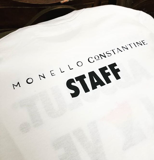 Made a quick addition to the #PRIDE shirts for Monello #mpls #pride #screenprinting #staff