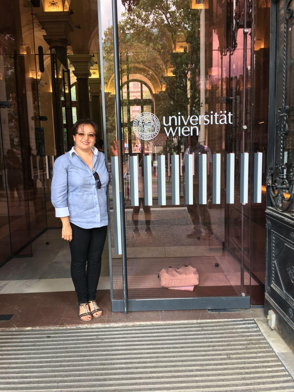 Universidad de Vienna, Austria -