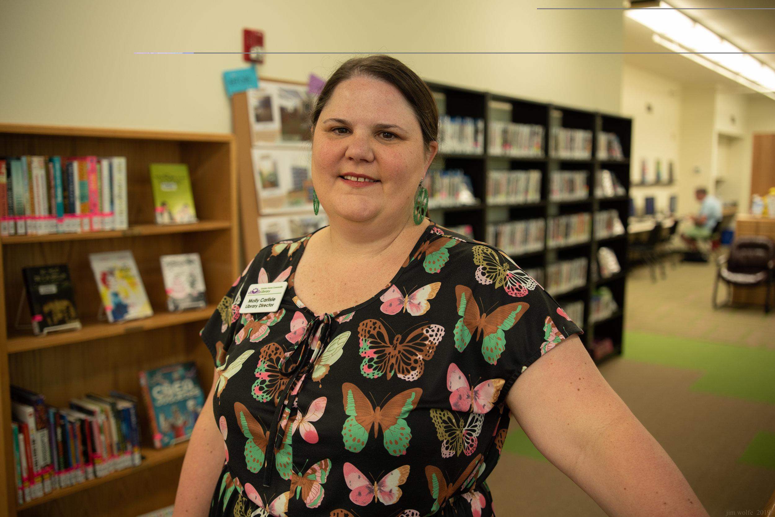 Library Director Molly Carlisle