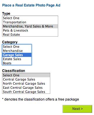 Choose a Classification