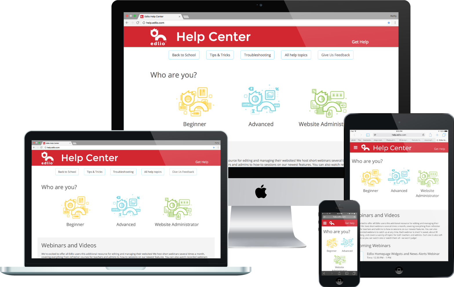 Revamping the Help Center - The only way to save the product's Help Center was to start over, practically from scratch. The increased ease of access, timeliness and clarity of information resulted in a 30% drop in the number of support tickets submitted per client.