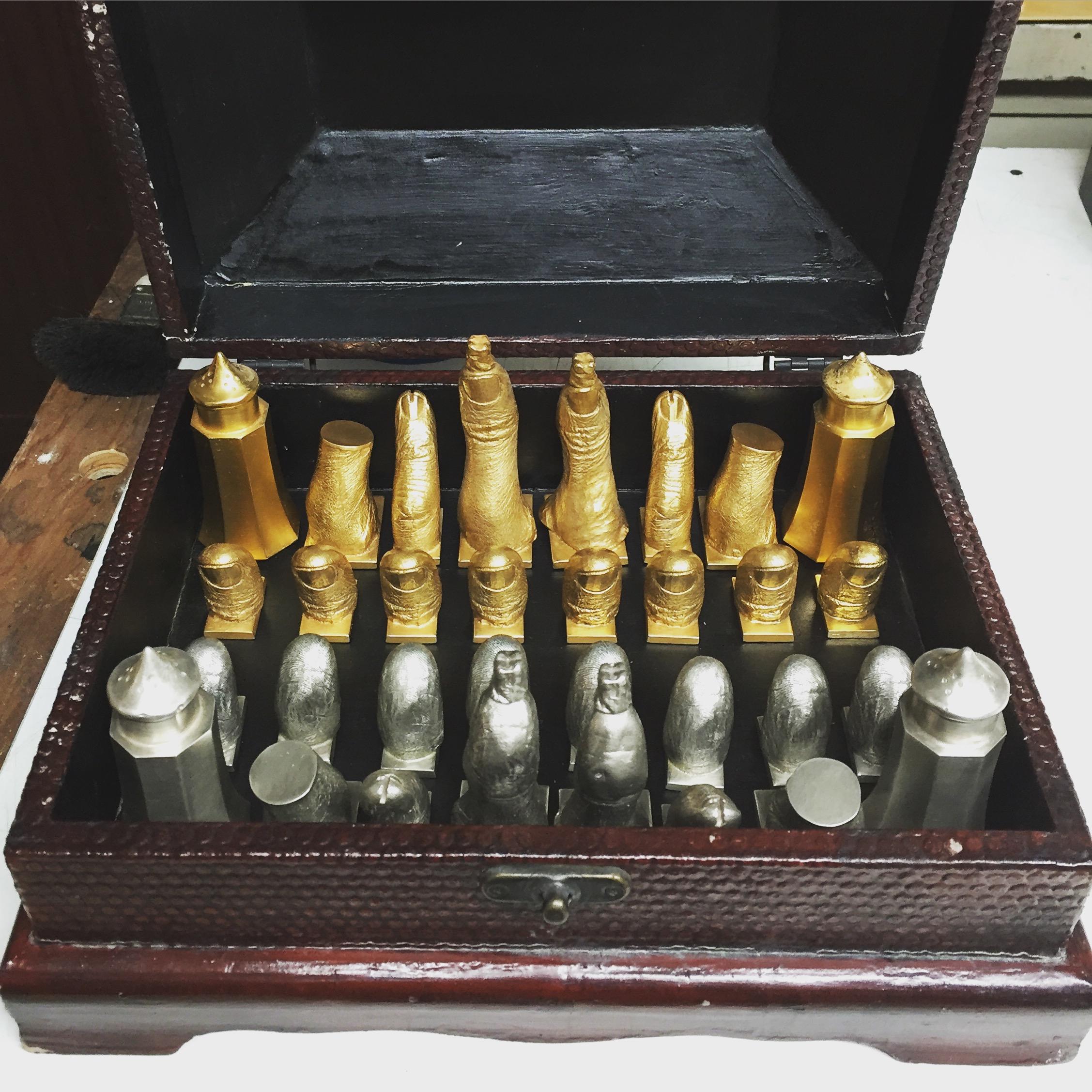 Salvador Dali - Chess Set