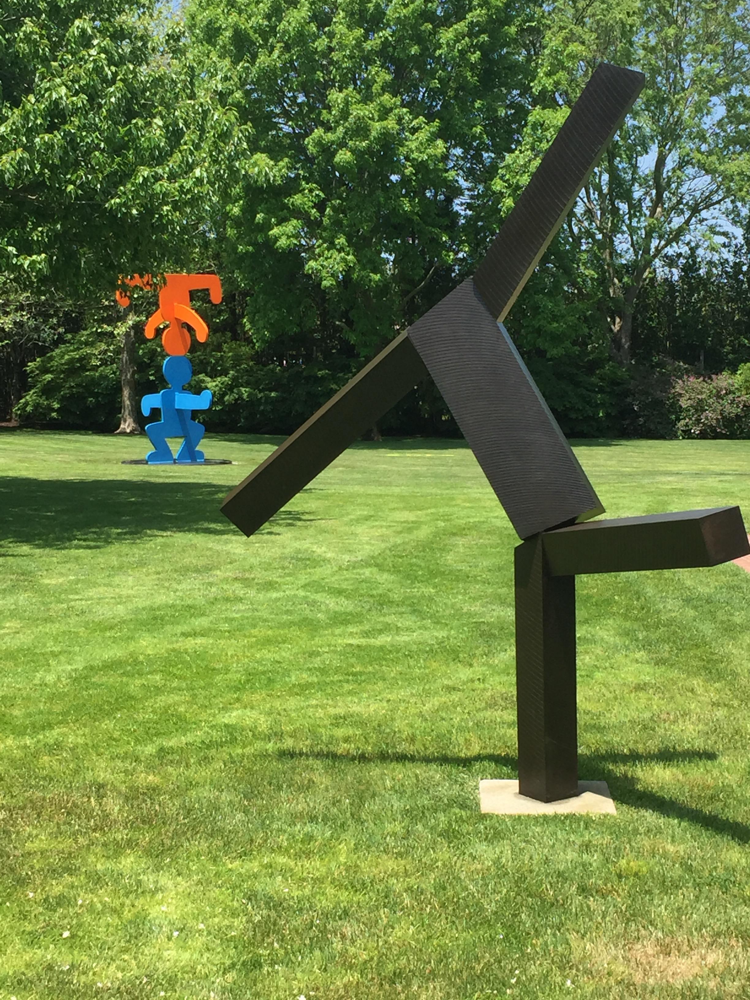Joel Shapiro and Keith Haring