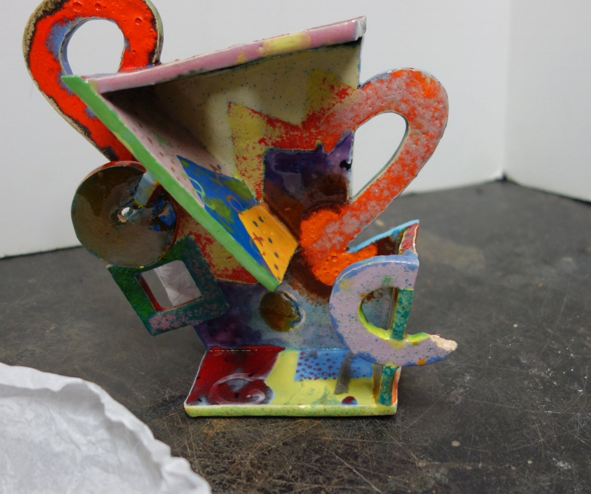 Unkonwn Artist - Abstract Fired Ceramic