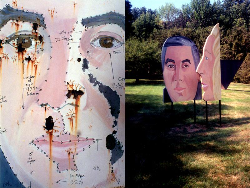 Alex Katz - Two Faces
