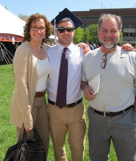 Nick, Carol, and Steve Tatti.
