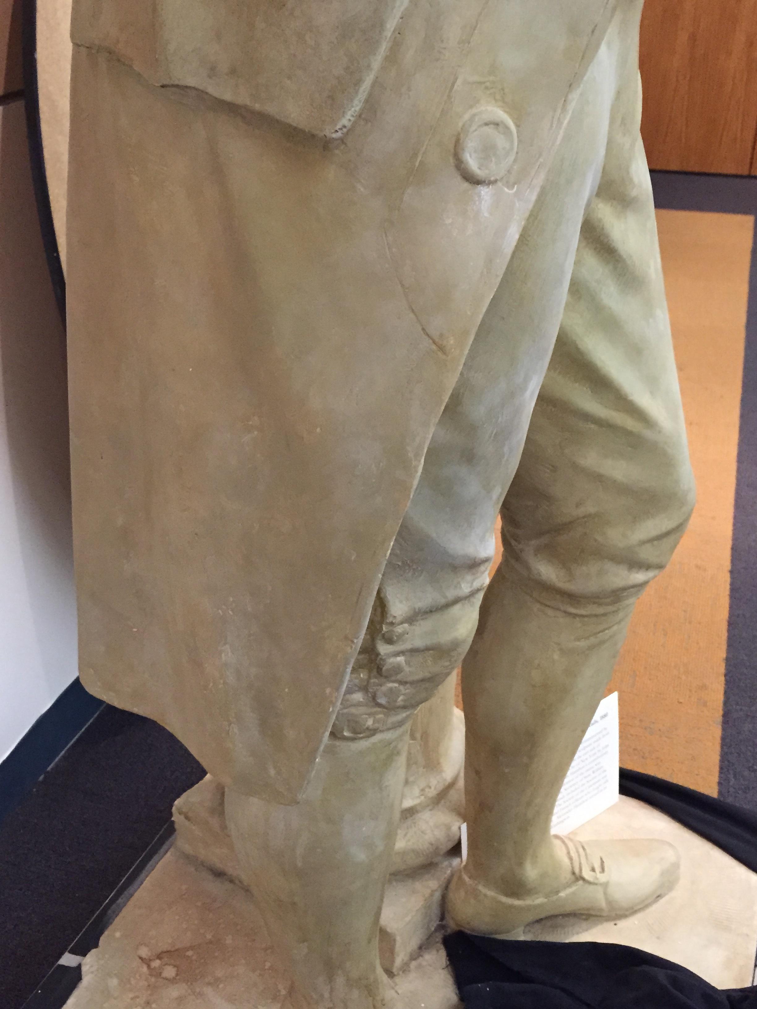 Plaster Coat of Benjamin Franklin